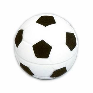 Dárková krabička semiš - fotbalový míč
