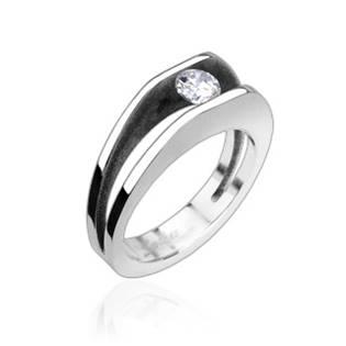 Zásnubní prsten chirurgická ocel OPR1314 - velikost 50 - OPR1314-50
