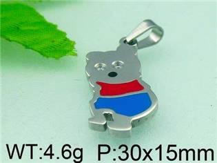 Ocelový přívěšek - medvídek