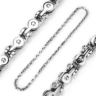 Pánský ocelový řetěz, tl. 7 mm, délka 60 cm