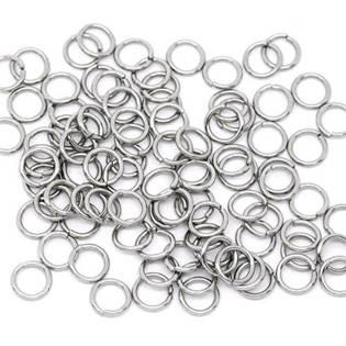 komponenty - ocelový kroužek 0,7x5 mm