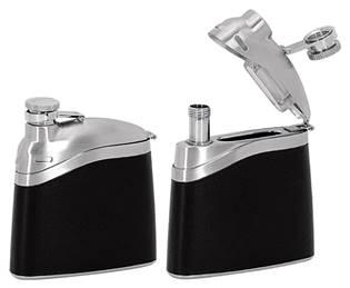 Ocelová kapesní lahev - placatka 130ml