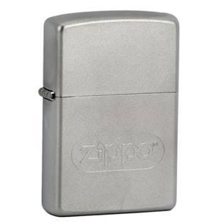ZIPPO Logo Oval - benzínový zapalovač matný