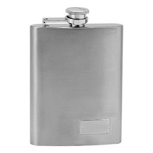 Ocelová kapesní lahev - placatka 195ml