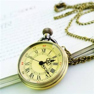 Retro kapesní hodinky - cibule malé - KH0010