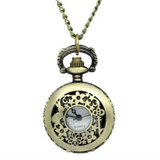 Retro otevírací kapesní hodinky - cibule - KH0012