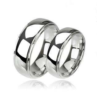 Snubní wolframové prsteny WF1003 - WF1003