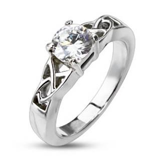 Dámský ocelový prsten