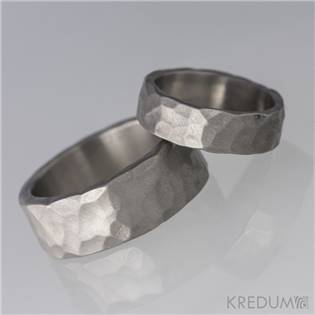 KS1100 Pánský snubní prsten titan - velikost 63 - KS1100-63