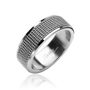 Prsten chirurgická ocel, šíře 8 mm - velikost 50 - OPR1324-50