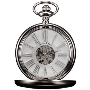 Mechanické kapesní hodinky v dárkovém balení - KSP036