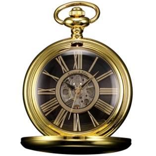 Mechanické kapesní hodinky v dárkovém balení - KSP034