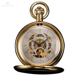 Mechanické kapesní hodinky v dárkovém balení - KSP011