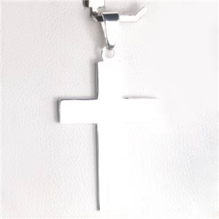 Stříbrný přívěšek kříž - ZB919028