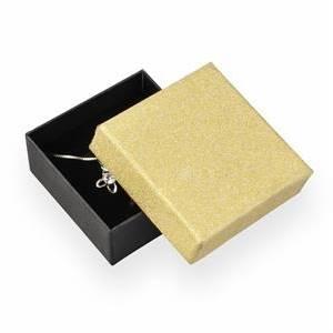 Dárková krabička, zlatá/černá