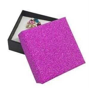 Dárková krabička růžová/černá