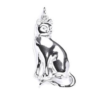 Stříbrný přívěšek kočka - CS3103