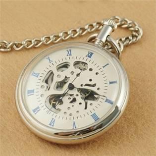 Mechanické kapesní hodinky - cibule - KH0022