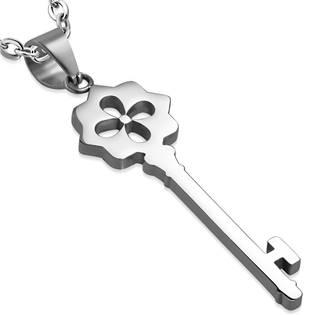 Ocelový přívěšek - klíč