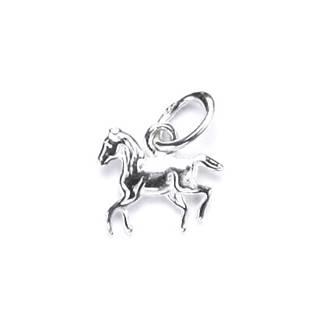 Drobný stříbrný přívěšek kůň - CS3134
