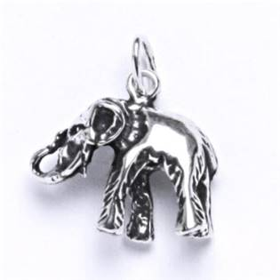 Stříbrný přívěšek - slon malý