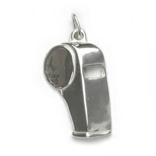 Stříbrný přívěšek - píšťalka - CS3153