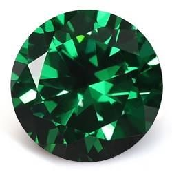 CZ Kubický zirkon - Dark Green, pr. 2.50 mm