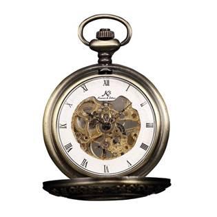 Mechanické kapesní hodinky v dárkovém balení - KSP043