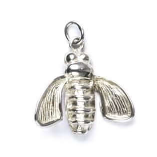 Stříbrný přívěšek - moucha