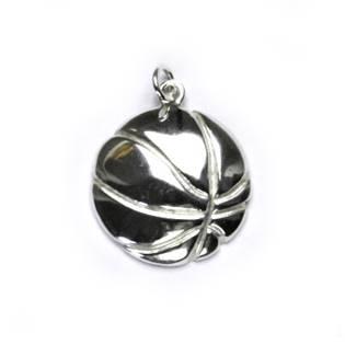 Stříbrný přívěšek - basketbalový míč