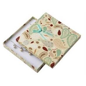 Dárková krabička na soupravu šperků střední
