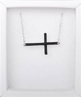 Stříbrný řetízek - křížek - ZB87001