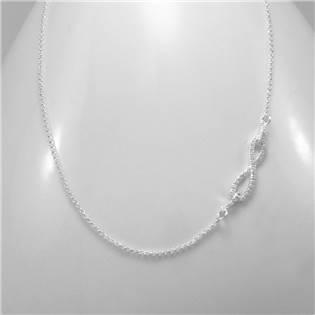 Stříbrný náhrdelník nekonečno - INFINITY - AL1021