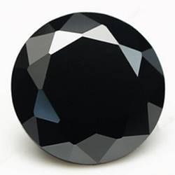 CZ Kubický zirkon - Black, pr. 1.4 mm