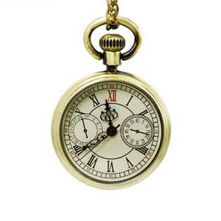 Retro malé kapesní hodinky - cibule