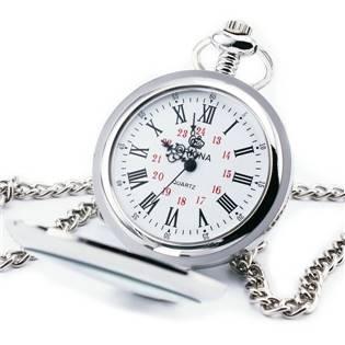 Otevírací kapesní hodinky - cibule - KH0042