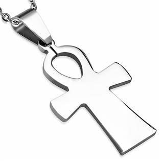 Ocelový přívěšek - kříž života
