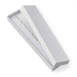 Dárková krabička na náramek bílá