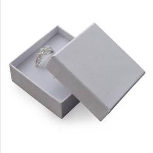 Dárková krabička na soupravu šperků - bílá