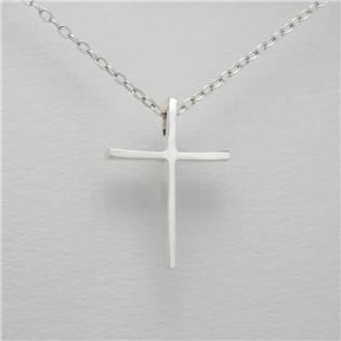 Stříbrný přívěšek kříž - AL4054