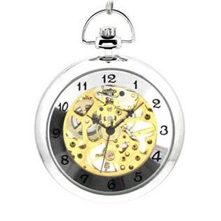 Mechanické kapesní hodinky - cibule - KH0020