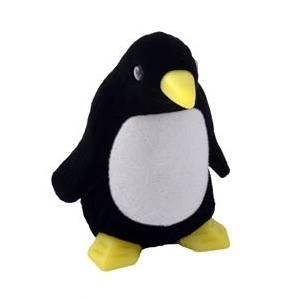 Dárková krabička semiš - tučňák