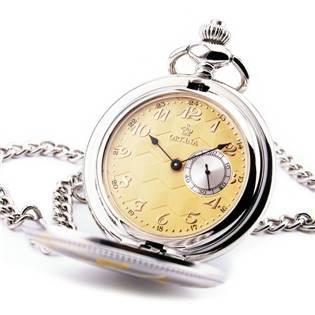 Otevírací kapesní hodinky - cibule