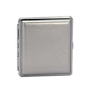 Tabatěrka - pouzdro na cigarety stříbrné - 40151-S