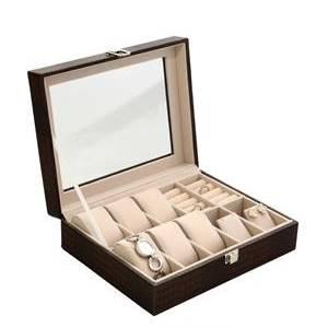 Šperkovnice na hodinky a šperky