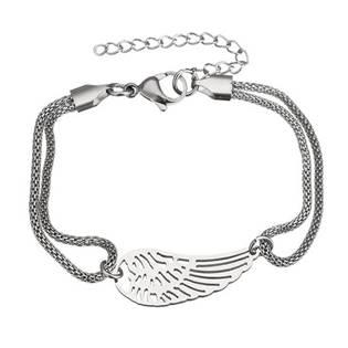 Ocelový náramek andělské křídlo  87860b0c82