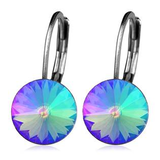 Ocelové náušnice s krystaly Swarovski®, PARADISE SHINE