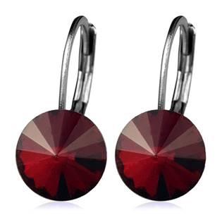 Ocelové náušnice s krystaly Swarovski®, SIAM
