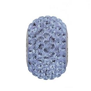 Navlékací přívěšek korálek s krystaly Swarovski®, Light Sapphire