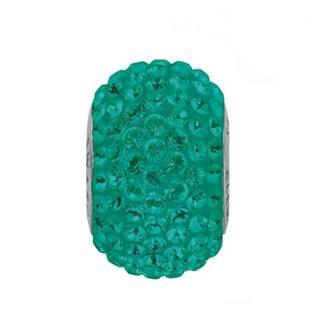 Navlékací přívěšek korálek s krystaly Swarovski®, Emerald